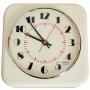 EL012 Horloge blanche