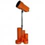 L020 Lampe orange