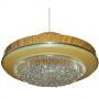 L058 Lampe effet bois